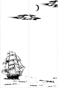 Море, Корабли, Рыбы