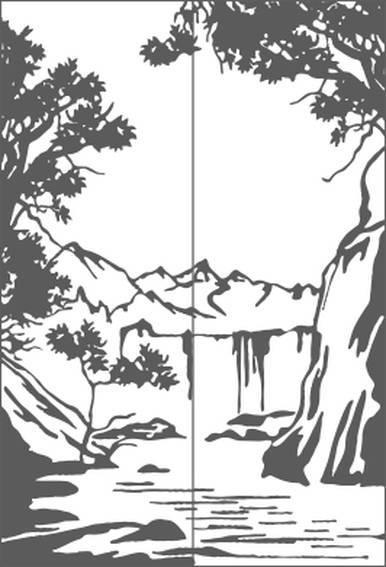 ПЕСКОСТРУЙНЫЙ РИСУНОК №285